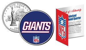 NEW YORK GIANTS NFL New York U.S. Statehood Quarter U.S. Coin  *Licensed*