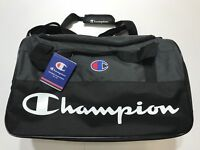 (3 Styles) New With Tags Champion Duffle Gym Travel Bag (Camo, Black, Grey)