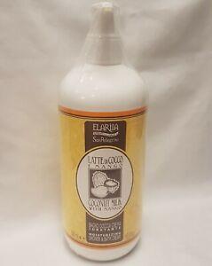 Elariia San Pellegrino Coconut Milk with Mango Moisturizing Shower & Bath Cream