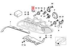 Genuine BMW E39 E53 E60 E60N E61 E61N Sedan Headlight Cover OEM 63128375448