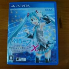 Good condition Hatsune Miku - Project DIVA - X for PS Vita F/S From Japan