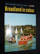 Broadland in Colour - Vintage Norfolk and Suffolk Booklet - 1970 - Travel/Nature