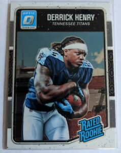 2016 Panini Donruss Optic Derrick Henry Rookie RC #165