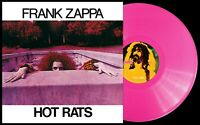 Frank Zappa - Hot Rats - 50th Anniversary Translucent Hot Pink 180g Vinyl LP