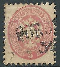 1864-65 VENETO E MANTOVA USATO 5 S  - M57-8