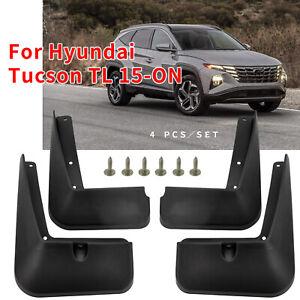 For Hyundai Tucson 16-18 OE Style Mud Flaps Front Rear Splash Guards Mudguards