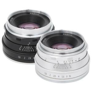 25mm F1.8 M4/3 Mount Lens for Olympus E-M5 E-M5II E-M10 E-M10II EPM1 EPM2 E-PL1