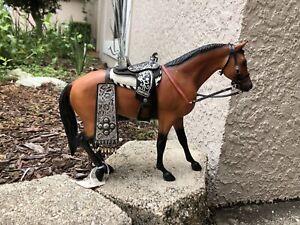 Breyer Horse Traditional Accessory #3361 #2418 Western Parade Saddle Bridle Set