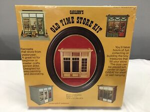 Carlson's Old Time Store Kit 1980 Carlson Miniatures Sealed (1:12)