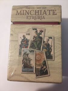 Minchiate Tarot Lo Scarabeo - Sealed Rare New Limited Edition Cards