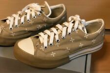 A Bathing Ape x Number Nine Cross Pattern Sneakers Beige Men Us8