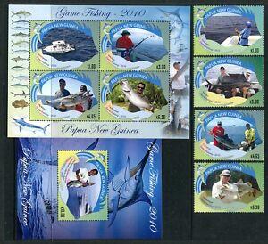 Papua New Guinea 1468-1473, MNH, 2010. Marine Life. x29436