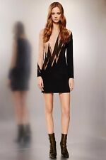 New Emilio Pucci Bead Embellished Lace and Silk Lightning Bolt Dress -RRP £2640