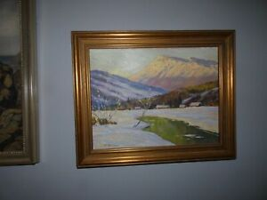 WALTER KOENIGER 1881-1943 OIL PAINTING,LISTED ARTIST