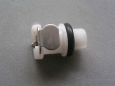 Two 2 Connector  ( Tube Valve Cylinder Pumps PARTS for Penis Nipple ) C