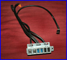 HP Workstation Z230 720140-001 724577-001 Front I/O Panel USB & Audio w/Cables
