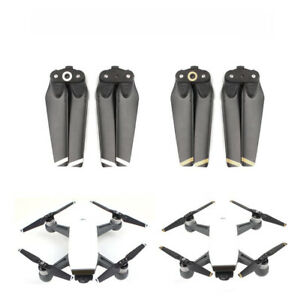 2 Pair for DJI SPARK Propellers Foldable Quick Release Drone Props