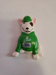 Vintage 1987 SPUDS MACKENZIE Bud Light St. Patrick's Day Budweiser Beer PIN