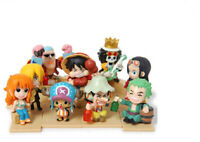 9PCS Cute Anime One Piece PVC Action Figure Collection Figurine Toy Gift 7CM