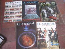 LOT 5 ANCIENS NUMEROS LE JOURNAL DE LA FRANCE