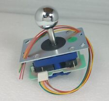 Japan Seimitsu Silver Joystick With 5 Pin Hanress Arcade Parts LS-32-10