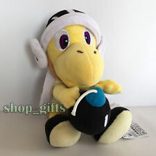 New Super Mario Bros. Plush Bomber Bro. Koopa Troopa Soft Toy Stuffed Doll 9""