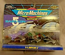Babylon 5 Micro Machines Space Collection 4 Flyer Narn Fighter Shuttle 65620