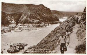 Channel Islands Postcard - Coastal Scene - Nr The Devil's Hole - Jersey - TZ6340
