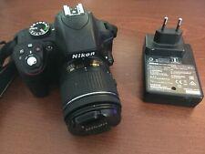 Nikon D3300 Af-p VR Spiegelreflexkamera, 18-55mm - Schwarz