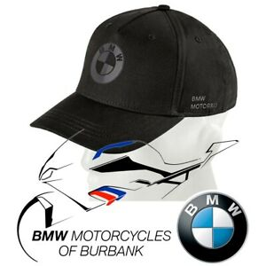 All Black Cap Genuine BMW Motorrad Motorcycle STYLE