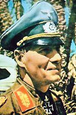 Photo WW2 - Le Général Edwin Rommel en Afrique