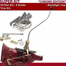 TH350 Shifter Kit 23 Swan E Brake Trim Kit For DEC1A