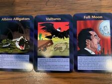 Illuminati New World Order - Albino Alligators + Vultures + Full Moon - 3 Cards!