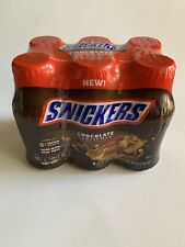 Snickers Chocolate Flavored Low Fat Chocolate Milk 6 Pack/8 oz Bottles