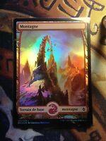 Battle for Zendikar  Montagne Textless n°267 VF FOIL  VF  -  MTG Magic (Mint/NM)