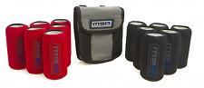 MSA 4X4 Tinnie Tubes with Canvas Bag Stubbie Cooler Bottle Holder TT1