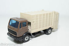 SOLIDO 379 MERCEDES BENZ REFUSE TRUCK MULLWAGEN VERY NEAR MINT RARE SELTEN