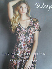 WRAP LONDON CLOTHING CATALOGUE WINTER 2013 THE NEW COLLECTION