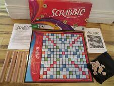EUC Complete Hasbro Scrabble Crossword Game 100 Tiles Racks Board Family Fun