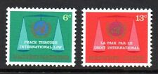 United Nations / New York - 1969 Peace Mi. 214-15 MNH