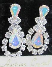 NEW Genuine Austrian Crystal Chandelier Post Earrings
