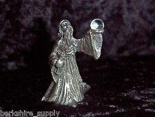 Finely Detailed Pewter Wizard Figurine