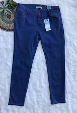 Wax Jeans Butt I love You Push Up Collection Skinny Jeans Women's Size 18 nwt