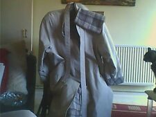 Women's Size 16 Beige Polyester/Cotton Macintosh Raincoats Button Casual M & S