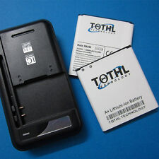 TQTHL 2 x 4000mAh Extended Slim Battery&Charger For Samsung Galaxy S4 L720 i9500