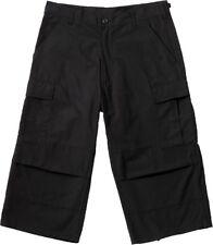 Camo Capris Long Cargo Shorts Military Army Fatigues Tactical 3/4 BDU Pants