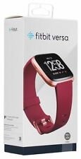 Brand new sealed Fitbit Versa Smartwatch with Limited Edition Ruby Band