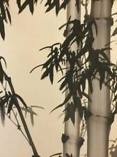 CHINESE PAINTING HANGING SCROLL CHINA VINTAGE OLD PICTURE BAMBOO From Japan d732