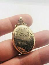 VINTAGE GOLD FILLED LOCKET / PENDANT 1950/ 60S RARE COLLECTABLE STYLISH