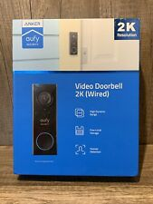 ANKER EUFY SECURITY WI-FI VIDEO DOORBELL 2K ULTRA HD  OPEN BOX